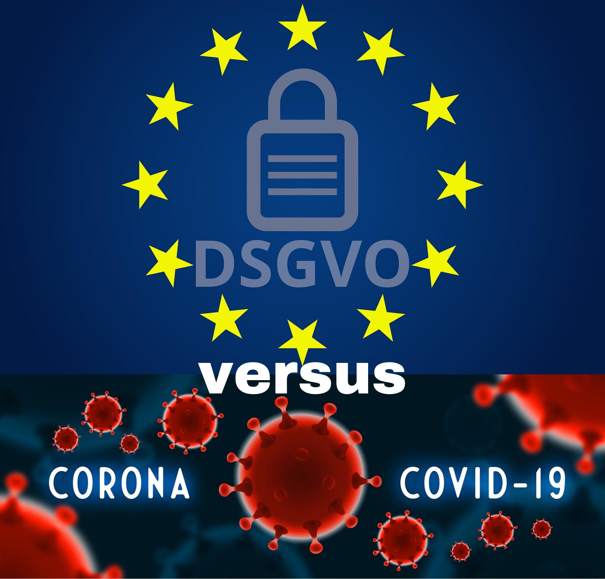 Datenschutz vs. Corona